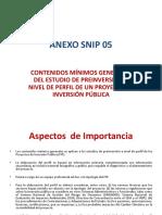 Anexo Snip 05