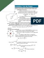 Ley de Gauss I