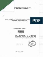 Avaliação Da Aprendizagem Escolar (Cipriano Carlos Luckesi, V1, 1992)
