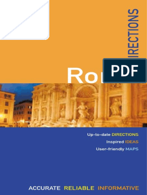 Martin Dunford The Rough Guides Rome Directions Rome