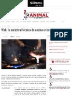 Wok La Ancestral Técnica de Cocina Oriental – Animal Gourmet
