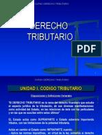 PRESENTACION 1    UNIDAD I CODIGO TRIBUTARIO (Materia primera solemne).ppt