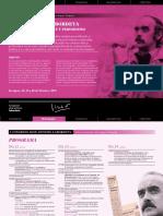 Programa Congreso 2015. JOSÉ ANTONIO LABORDETA POLÍTICA, COMUNICACIÓN Y PERIODISMO