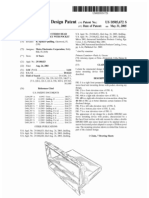 Double DIN/ISO auto stereo head unit mounting device with pocket (US patent D505672)