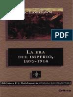(Fichado) Hobsbawm, Eric - Introducción de La Era Del Imperio-2