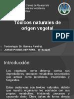 Toxicos Naturales de Origen Vegetal