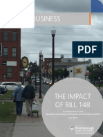 Peterborough Chamber of Commerce written submission on Bill 148