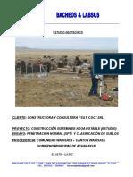Informe Geotécnico