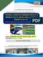 Brochure Modelamiento Hidrológico
