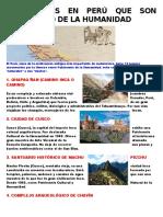 Patrimonio Del Peru