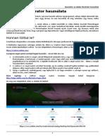 Az Adobe Illustrator Használata