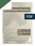Merino Knitwear Innovations