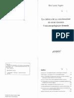 Segato, R. Género y colonialidad. Del patriarcado comunitario de baja intensidad al patriarcado colonial moderno de alta intensidad.pdf