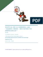 Manual CGeeks de Hardy Cross para Secciones no Prismáticas Calderón Quispe Gilmer