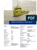 Platform Supply Vessel 4000CD CD