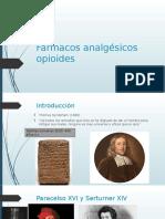 Farmacos analgésicos opiodes