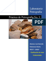 Prac 9 Carbonatos