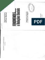2 - SCHUTZ Alfred - Fenomenologia e Rel Sociais (2)