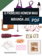 o Primeiro Homem Mau - Miranda July