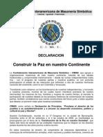 DeclaracinporlaPazAgosto2010cimas