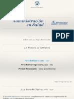 Administracion en Salud 2 Historia de La Gestión