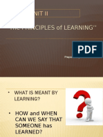 The Principles of  learning.pptx