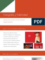 Fotografía y Publicidad
