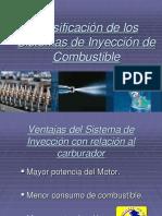 01 Clasificación de Los Sistemas de Inyección