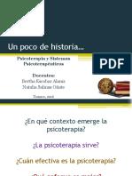 03. Contexto Histórico de Psicoterapia, Grandes Debates