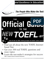 McGraw-Hill - The Official Guide to the New TOEFL [2006]