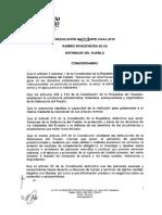 Resolucion 058 - Reglas Para Admisibilidad y Tramite de Caso