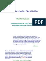 (Ebook - Ita - Fisica - Relatività) Babusci, Danilo - Teoria Della Relatività (Pdf)