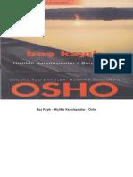 Bos Kayik - Hiclikle Karsilasma - Osho