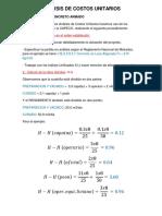 Analisis de Costos Unitarios Concreto Armado(Losa)