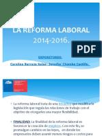 Reforma Laboral Carojeny 2.0