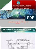 Bagian Bagian Dan Fungsi Dalam Sistem Penerima Tv Hitam Putih