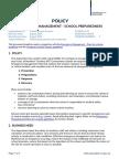emergency-management- school-preparedness policy