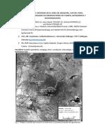 Ignimbrita Del Neogeno en El Area de Arequipa Traduccion