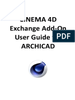 22 CINEMA 4D Exchange Add-On User Guide for AC