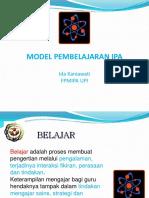 Www.unlock-PDF.com Pelatihan WI-MODEL PEMBELAJARAN IPA