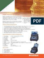 Biogear homogenizer