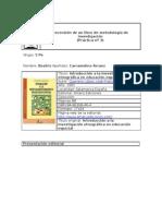 Recensión Introducción a la investigación etnográfica en educación especial