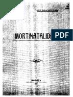 1921- mortinatalidad