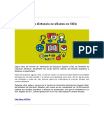 T1 - La Educación a Distancia Se Afianza en Chile