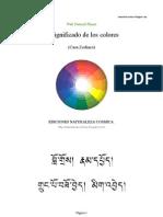 Significado de los colores (Zodiaco)