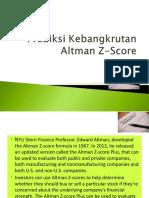 Manrisk Altman z Score