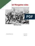Colonial Skirmish Rules