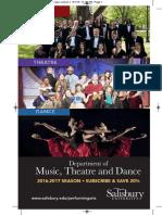 Music Theatre Dance 2016 17 Brochure