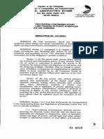 Policy Resolution No. 155 (2001)