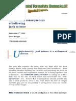 Force of Nature -- Environmental Terrorists Unmasked -- Junk Science -- 2009 09 01 -- Gwyn Morgan -- MODIFIED -- PDF -- 300 Dpi